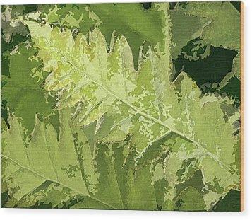 Roadside Fern 2 - Wood Print