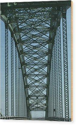 Robert Moses Causeway Bridge Wood Print