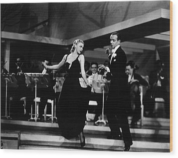 Roberta, Ginger Rogers, Fred Astaire Wood Print by Everett