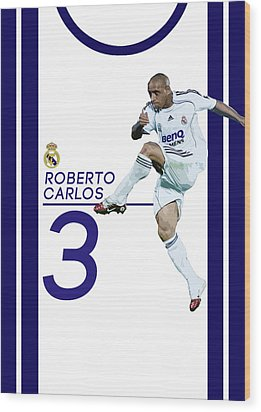 Roberto Carlos Wood Print