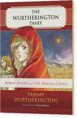 Robin Hood Cover Wood Print