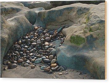 Rock Cradle Wood Print by Randy Bayne