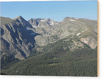 Rock Cut - Rocky Mountain National Park Wood Print