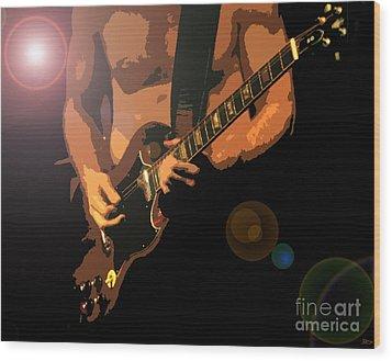 Rock Hero Wood Print by David Lee Thompson