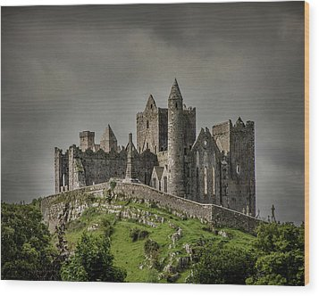 Rock Of Cashel Wood Print