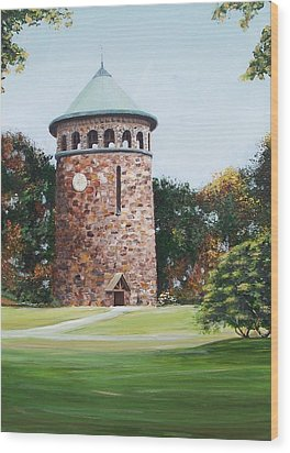 Rockford Tower Wood Print