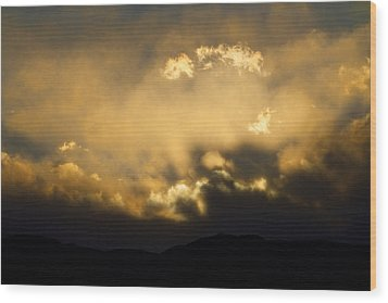Rocky Mountain Continental Divide Sunset Wood Print by James BO  Insogna