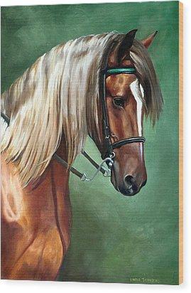 Rocky Mountain Horse Wood Print
