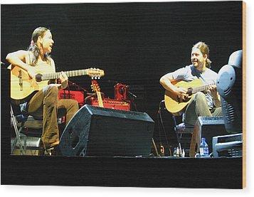 Rodrigo Y Gabriela 18 Wood Print