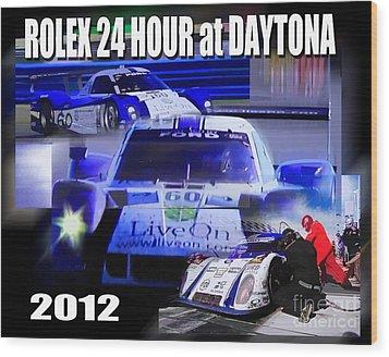 Rolex Daytona Wood Print