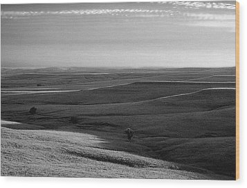 Wood Print featuring the photograph Rolling Hills by Thomas Bomstad