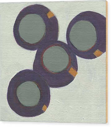 Rolling On 1 Wood Print by Jean Beal