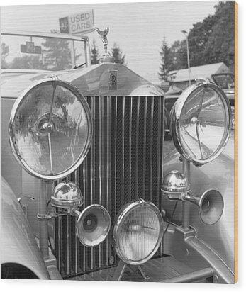Rolls Royce A1 Used Car Wood Print by Richard Singleton