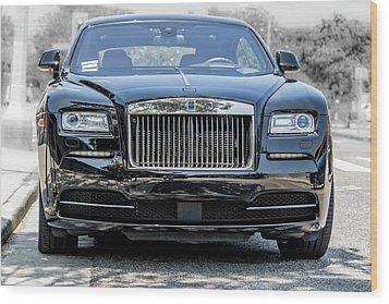 Rolls - Royce Wraith Coupe 2016 Wood Print