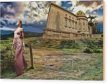 Roman Goddess Wood Print by Blake Richards