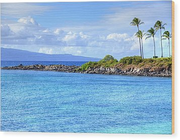 Wood Print featuring the photograph Romantic Kapalua  by Kelly Wade