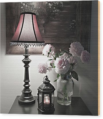Wood Print featuring the photograph Romantic Nights by Sherry Hallemeier