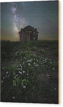 Wood Print featuring the photograph Room With A View by Aaron J Groen