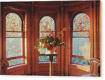 Wood Print featuring the photograph Room With A View by Kristin Elmquist