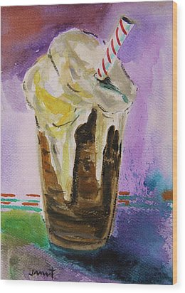 Root Beer Float Wood Print by John Williams