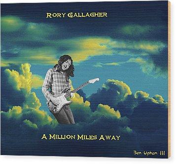 Rory Million Miles Away Wood Print