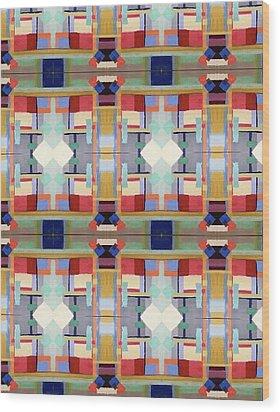 Rosalie's Fabric Wood Print