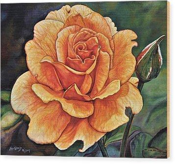 Rose 4_2017 Wood Print