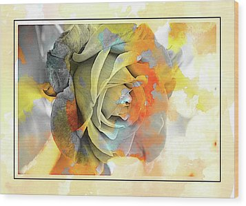 Wood Print featuring the photograph Rose Bud by Athala Carole Bruckner