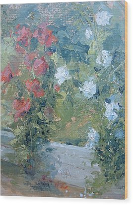 Rose Garden Wood Print by Bryan Alexander