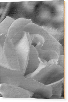 Rose Wood Print by John Bradburn
