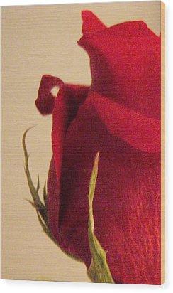 Rose Wood Print by Kristine Nora