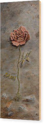 Rose Of Regeneration Wood Print