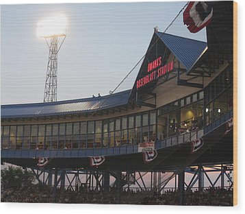 Rosenblatt Stadium Wood Print