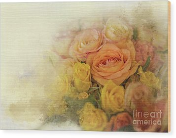 Roses For Mother's Day Wood Print by Eva Lechner