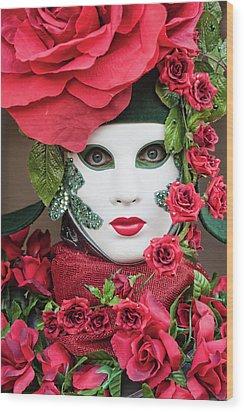 Roses II Wood Print