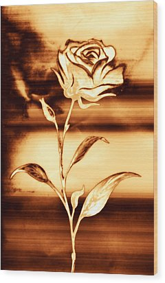 Rosewood Wood Print by Dolly Mohr