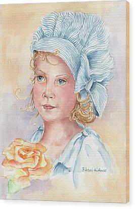Rosie Wood Print