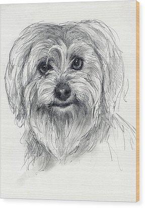 Rosie Wood Print by Tim Thorpe