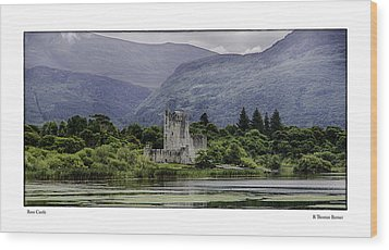 Ross Castle Wood Print by R Thomas Berner
