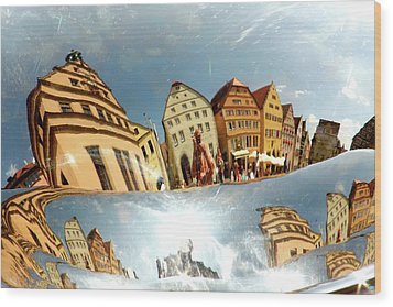 Wood Print featuring the photograph Rotenburg In A Tuba by KG Thienemann