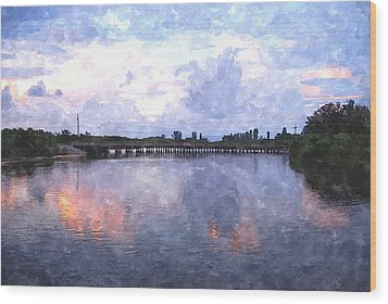 Rotonda River Roriwc Wood Print