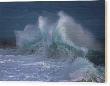 Rough Sea 25 Wood Print
