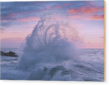 Rough Sea 29 Wood Print