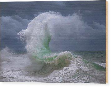 Rough Sea 4 Wood Print
