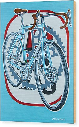 Rourke Bicycle Wood Print