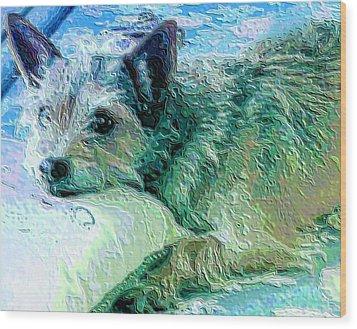 Roxy Wood Print