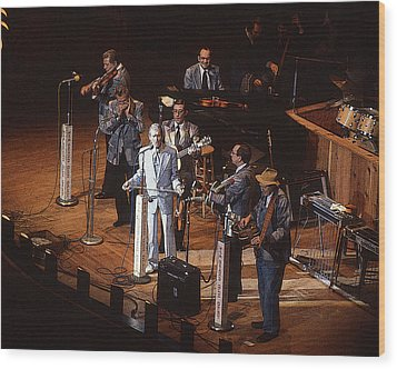 Roy Acuff At The Grand Ole Opry Wood Print