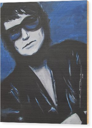 Roy Orbison In Beautiful Dreams - Forever Wood Print
