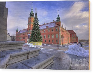 Wood Print featuring the photograph Royal Castle by Juli Scalzi