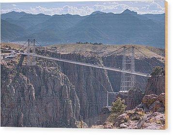 Royal Gorge Bridge Colorado Wood Print by James BO Insogna